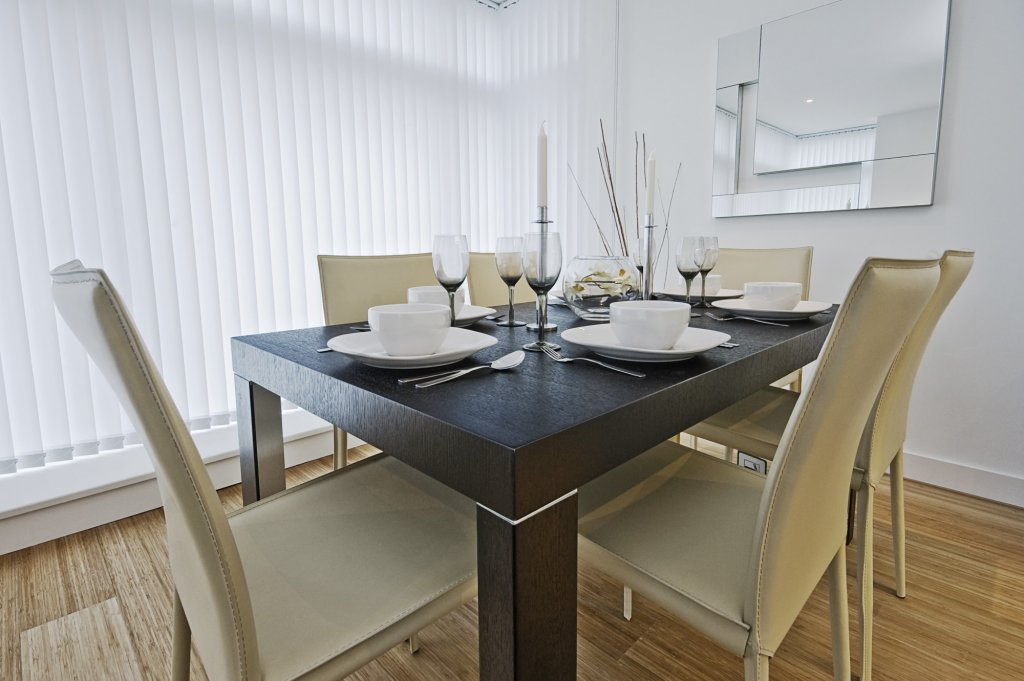 modern luxury dining table