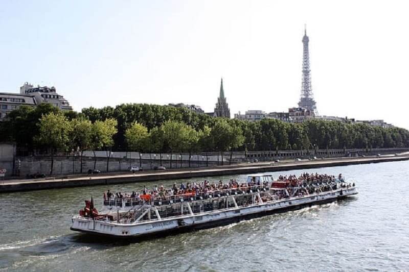 Boating On The Seine River