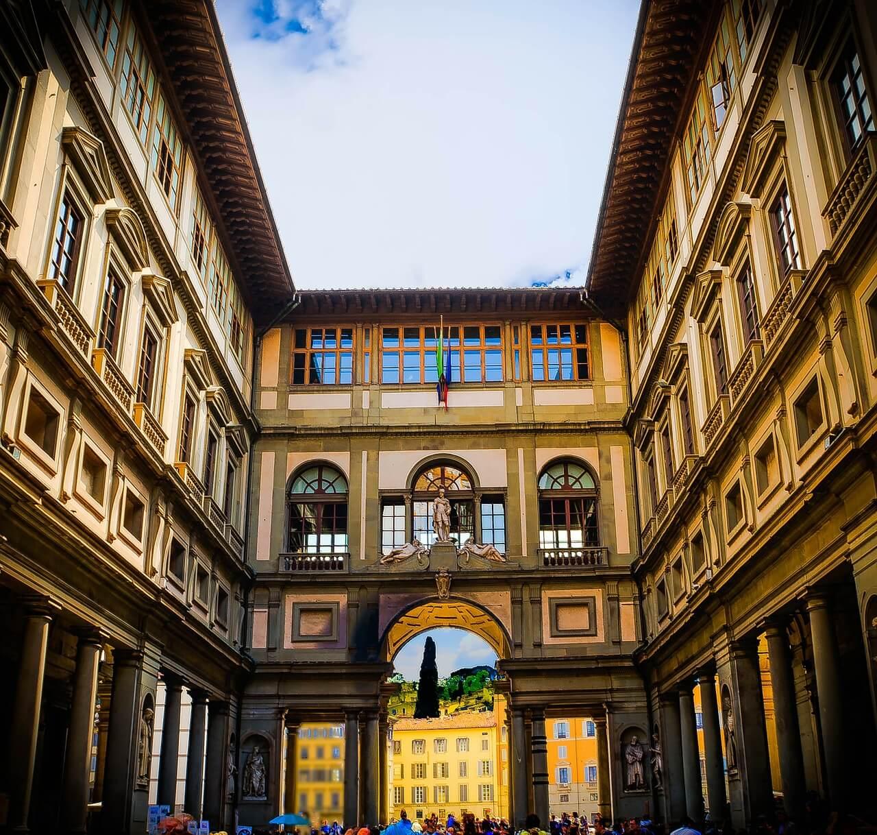 Tuscan-museums-The-Uffizi-Gallery