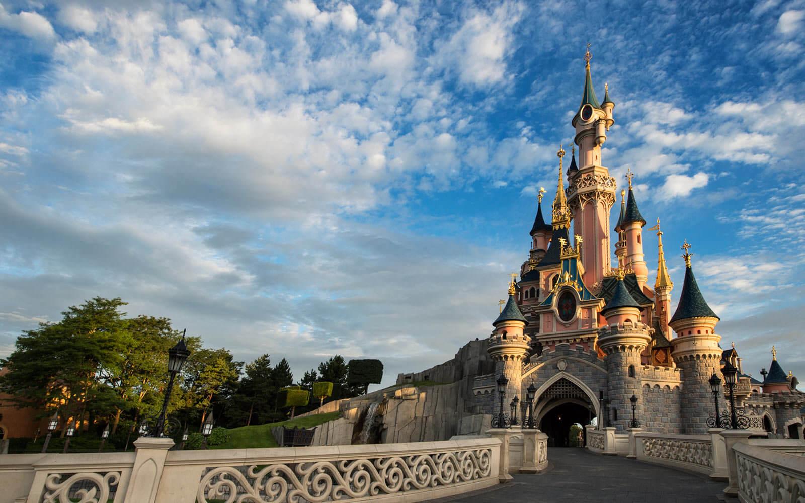 Visiting The Disneyland In Paris