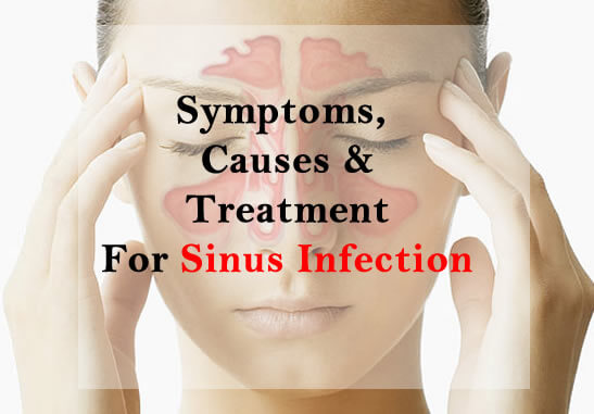 Symptoms, Cause And Treatment For Sinus Infection