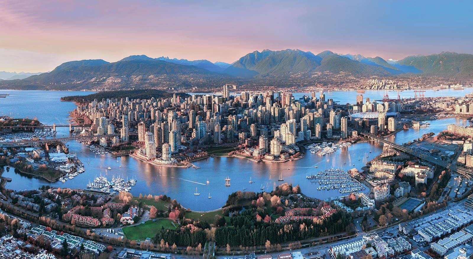 Places to visit in Canada - Vancouver