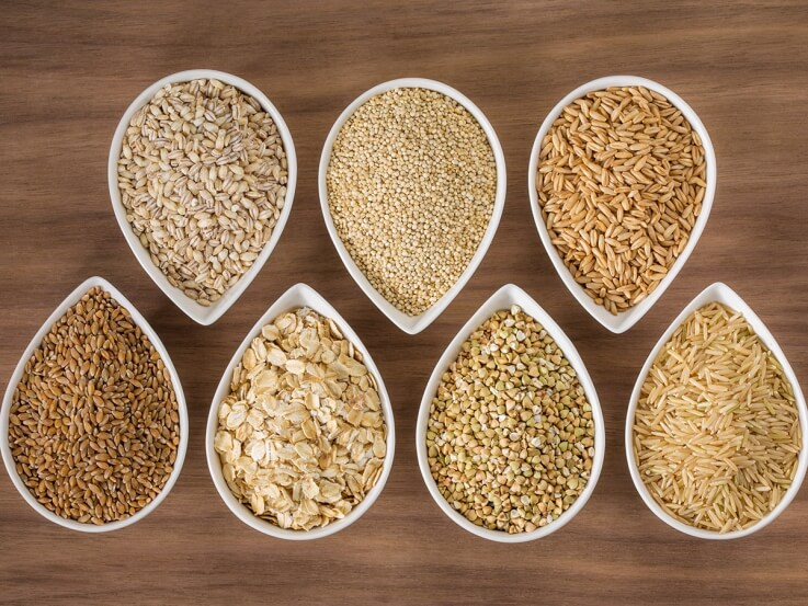 Whole Grains - Natural Food Intake For Constipation Treatment