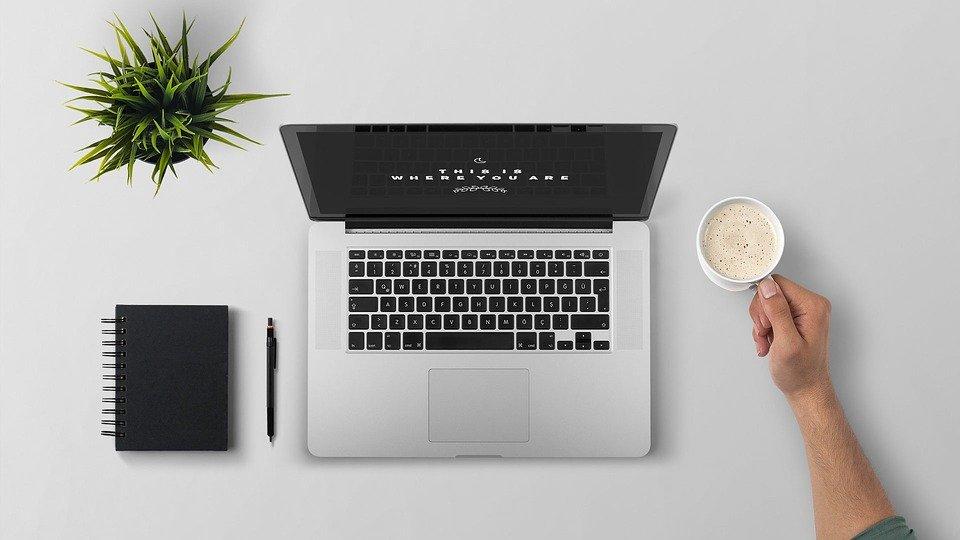 Laptop, Break, Coffee, Technology, Computer, Office
