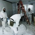 Home with Asbestos Removal Services