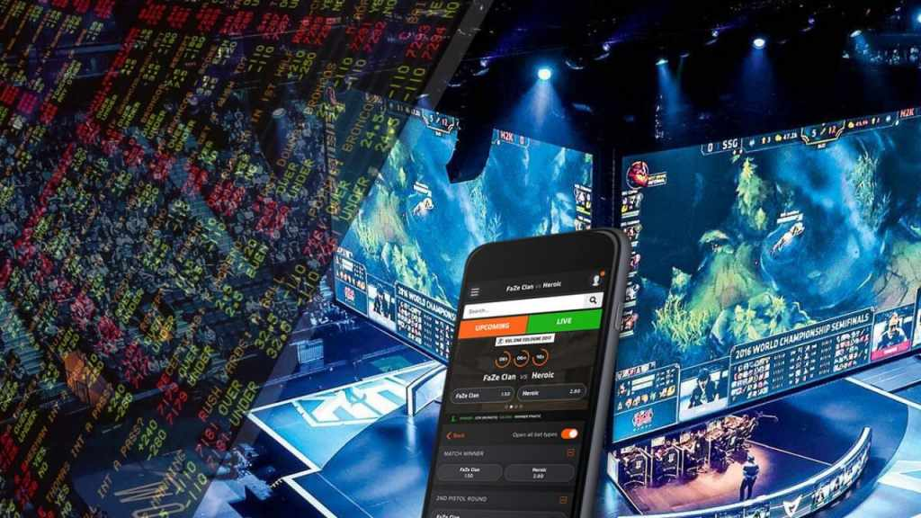 Betting on the eSports