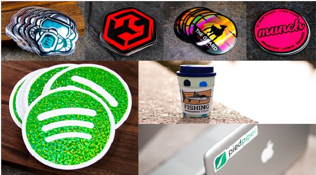 paper stickers are available in many different colors