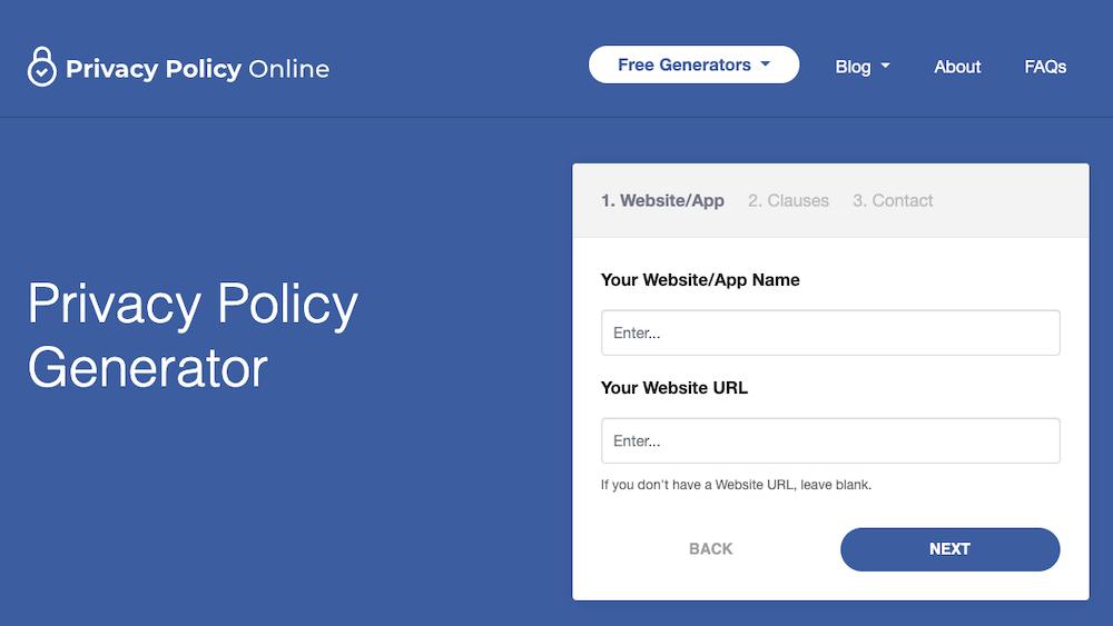 Privacy Policy Generators