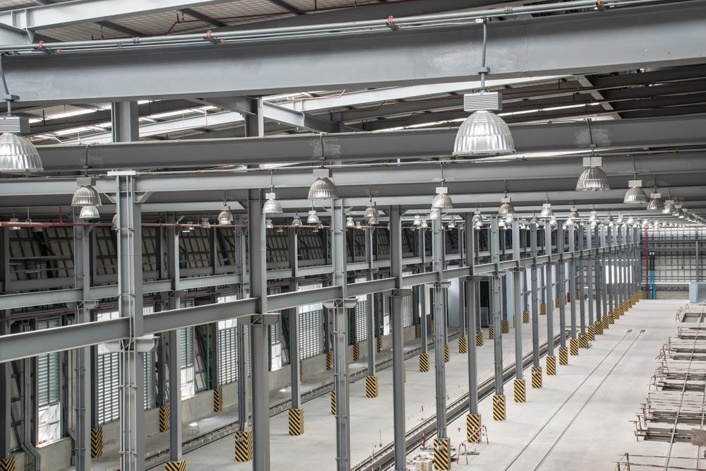 High-bay lighting and use